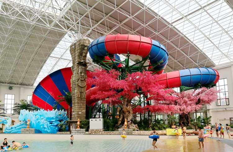 NEW PROJECTS_LIAOLIN Yutang quan water park