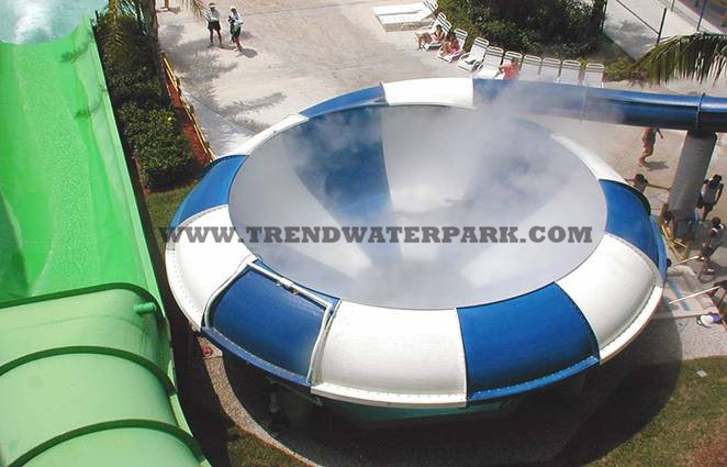 Space Bowl Water Slide(HT-11)