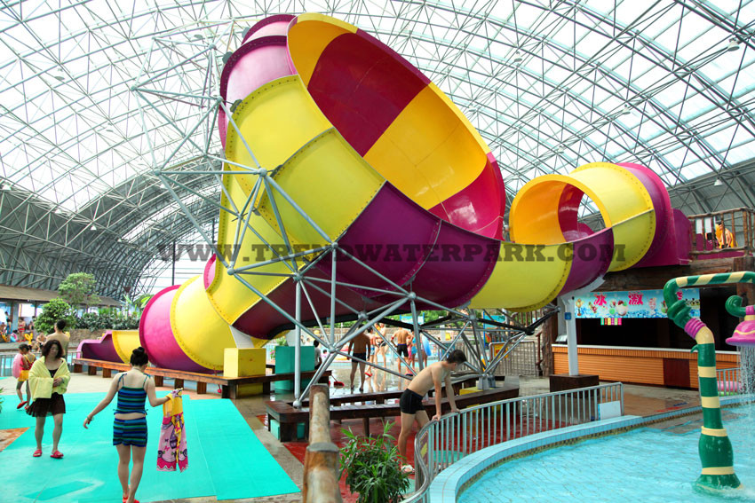 Tornado Small Fiberglass Water Slides