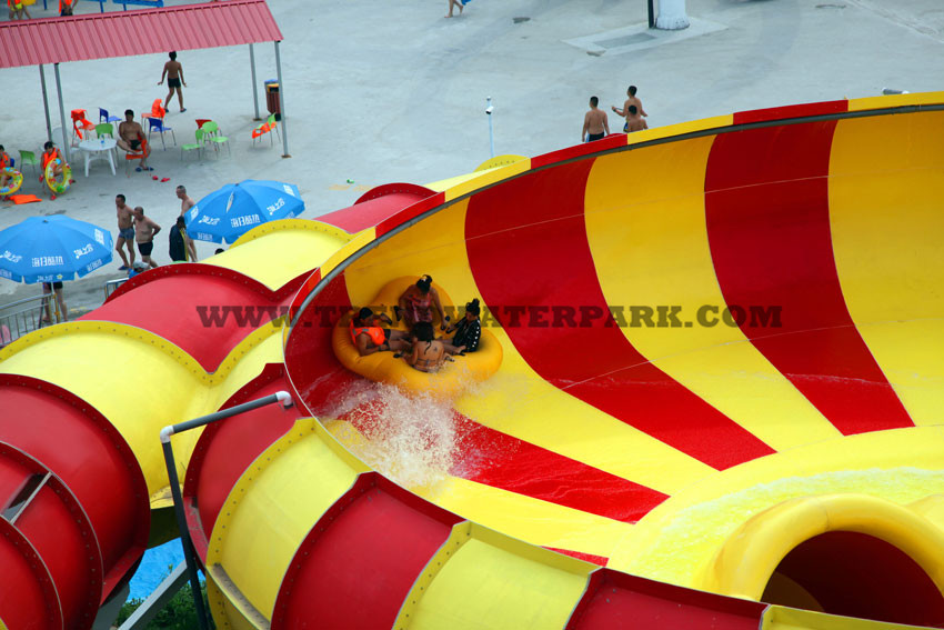 Super Bowl Water Slide 4 Person(HT-41)
