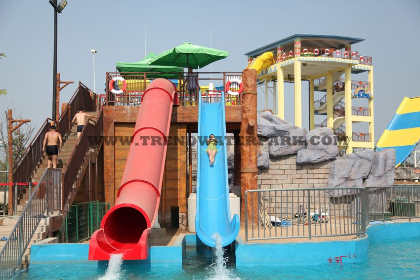 Cannon Toboggan Water Slide