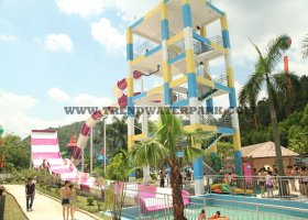 Boomerang Water Slides(H-38)