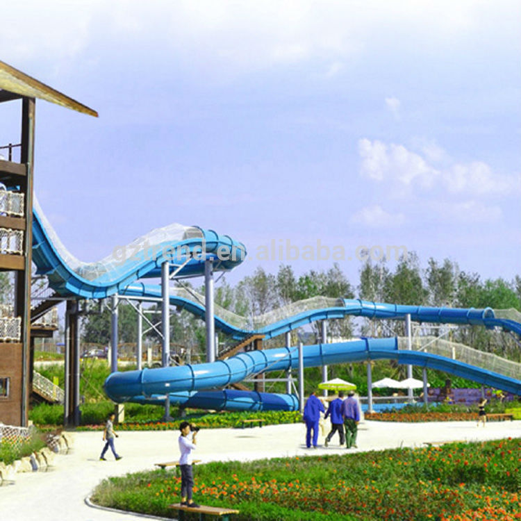Water Roller Coaster Slide(H-43)