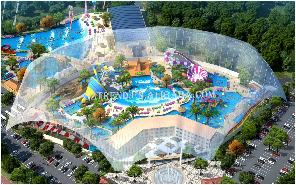 Fangzhou Hot Spring Water Park Build A Water Park Water